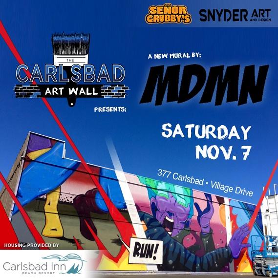 Carlsbad Art Wall #5 Coming Soon!