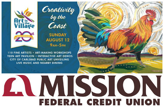 Mission Federal Credit Union Joins 20th Annual Art In The Village