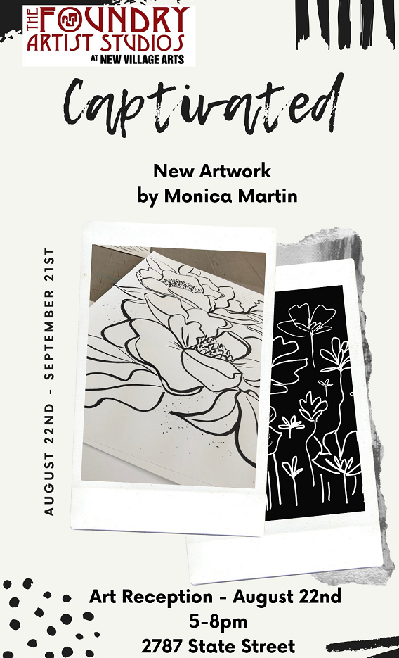 Art Reception Featuring Works By Monica Martin
