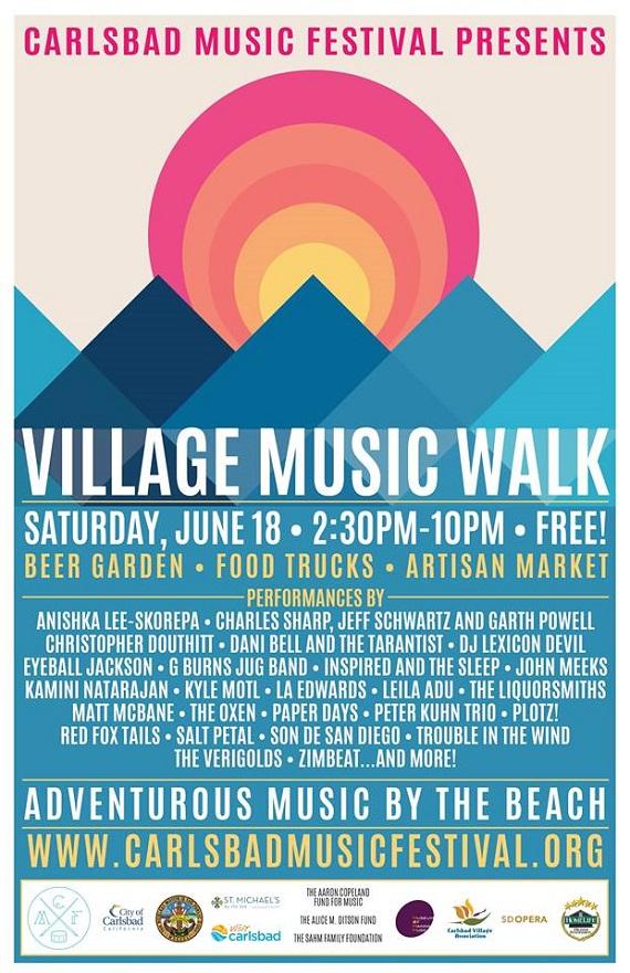Village Music Walk is Here!