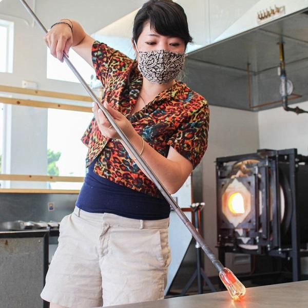 Netflix 'Blown Away' Glass Artist In Residence At Barrio Glassworks