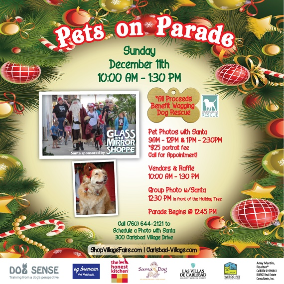 Santa Leads Pets on Parade