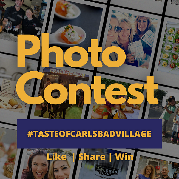 Taste of Carlsbad Village Photo Contest Still Going On!