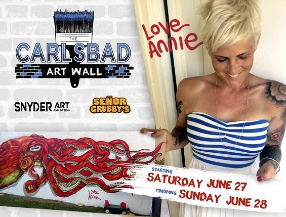 Carlsbad Art Wall #3