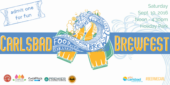 Craft Beer & Charity Comes to Carlsbad Saturday