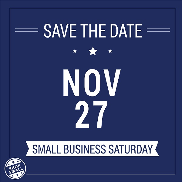 Save The Date For Small Business Saturday