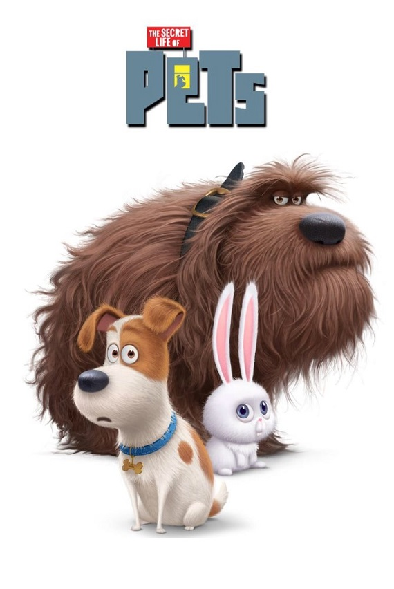 Secret Life of Pets at Opening Night of Flicks at the Fountain