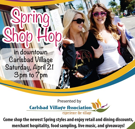 Celebrate Spring At The 2nd Annual Shop Hop