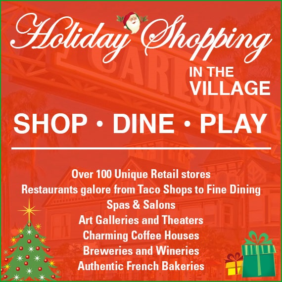 Fabulous Gift Giving Ideas Found In Carlsbad Village