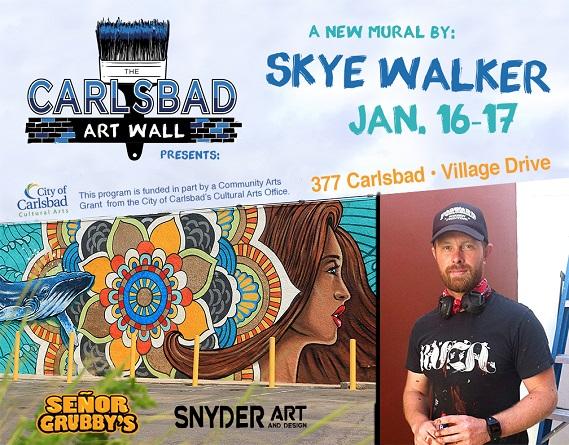 Carlsbad Art Wall Returns