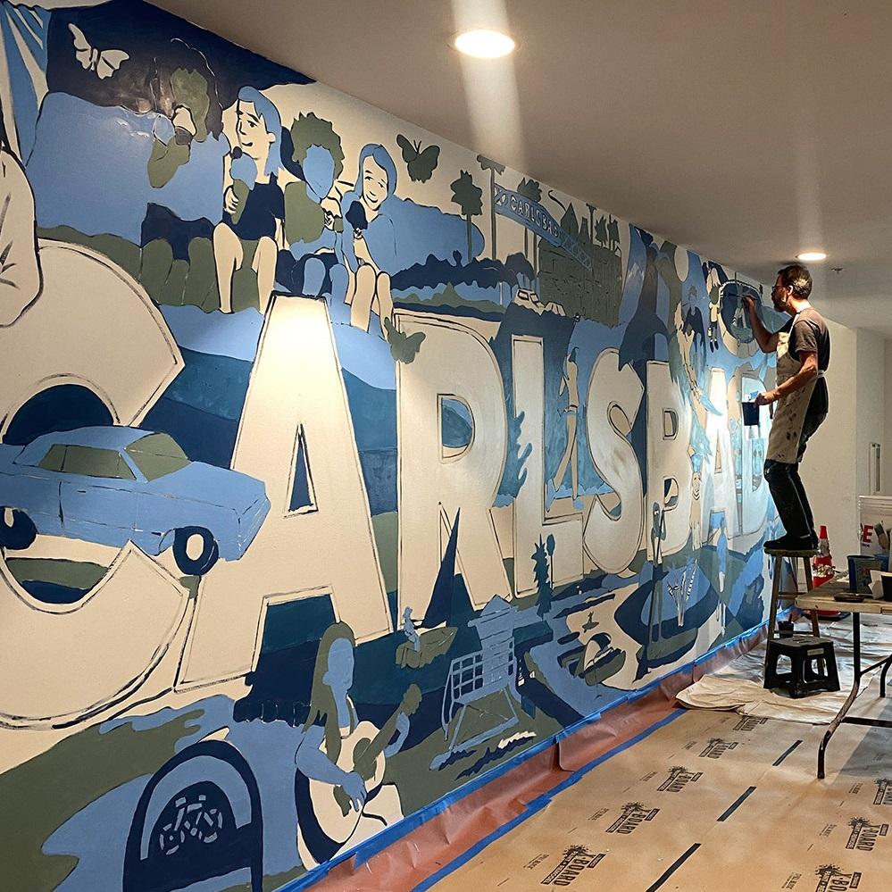 Local Art Enhances The Lofts At Carlsbad Village
