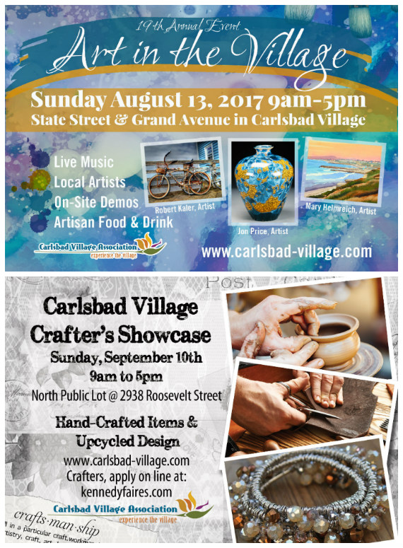Save the Date For Two Summer Events in the Village