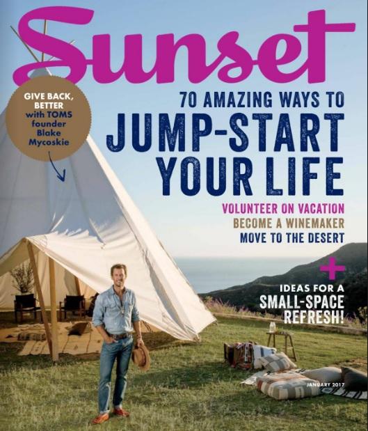 Carlsbad Village Featured in Sunset Magazine!