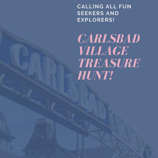 Carlsbad Village Treasure Hunt Brings Fun And Safe Way To Enjoy Downtown