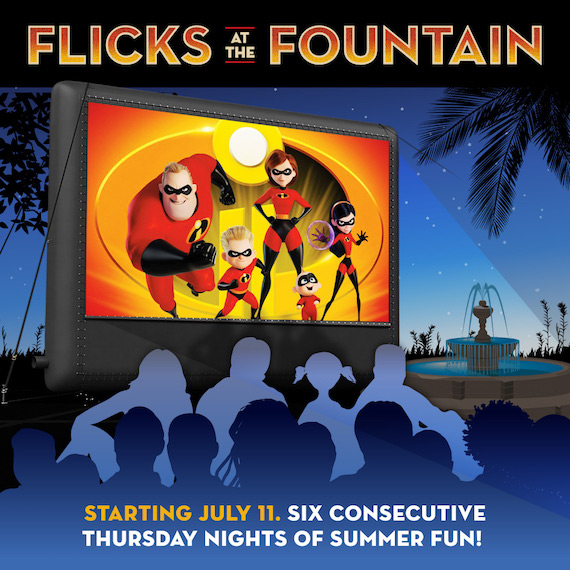 Flicks at the Fountain 2019 Image