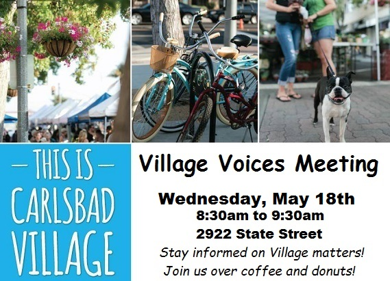 Summer Preview at Village Voices Meeting May 18th