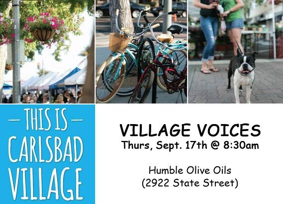 Village Voices Sept. 17th