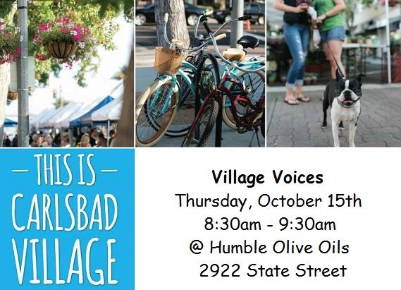 Village Voices October 15th