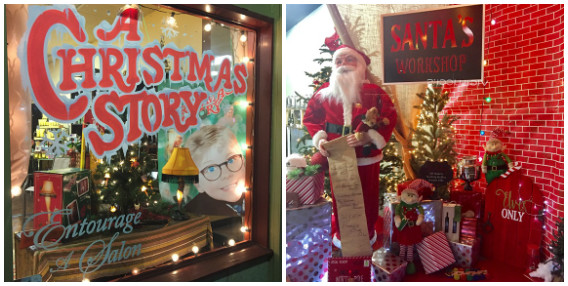 carlsbadvillagewindows contest winners announced - Christmas Decorating Contest
