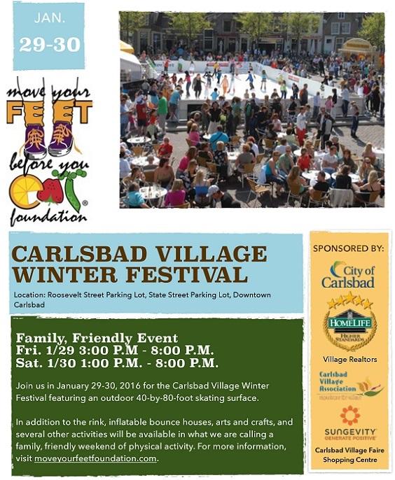 Carlsbad Village Winter Festival