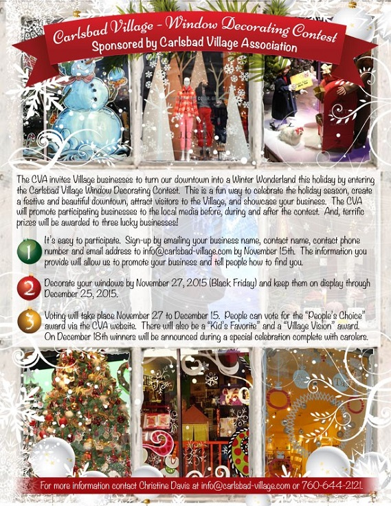 Window Decorating Contest Information