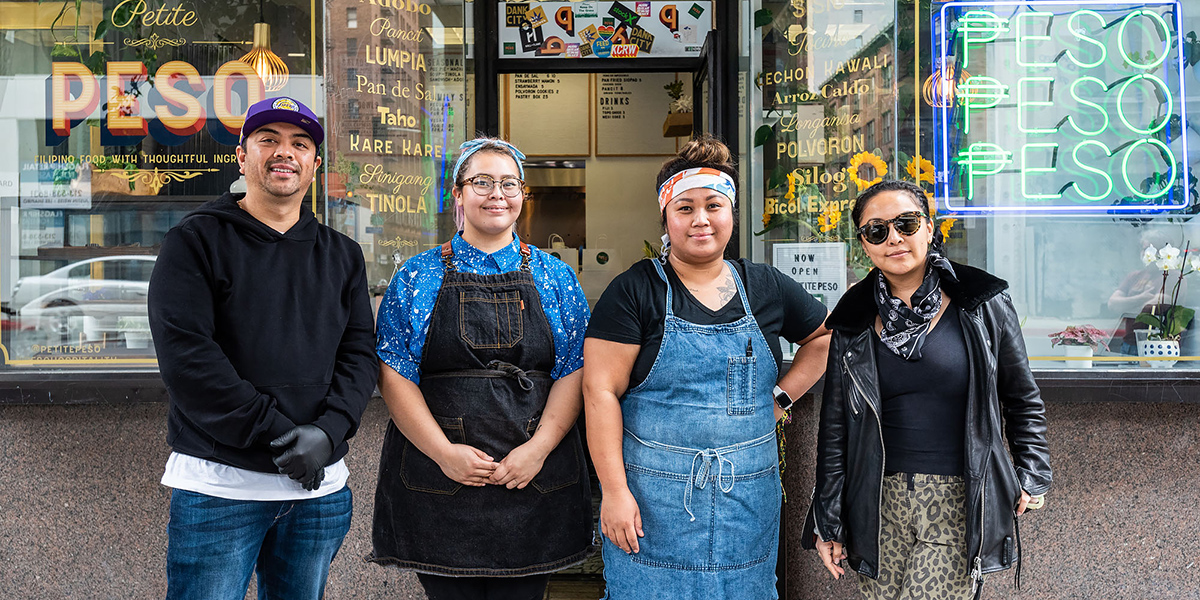 Petite Peso, one of the DTLA establishments owned by people of color