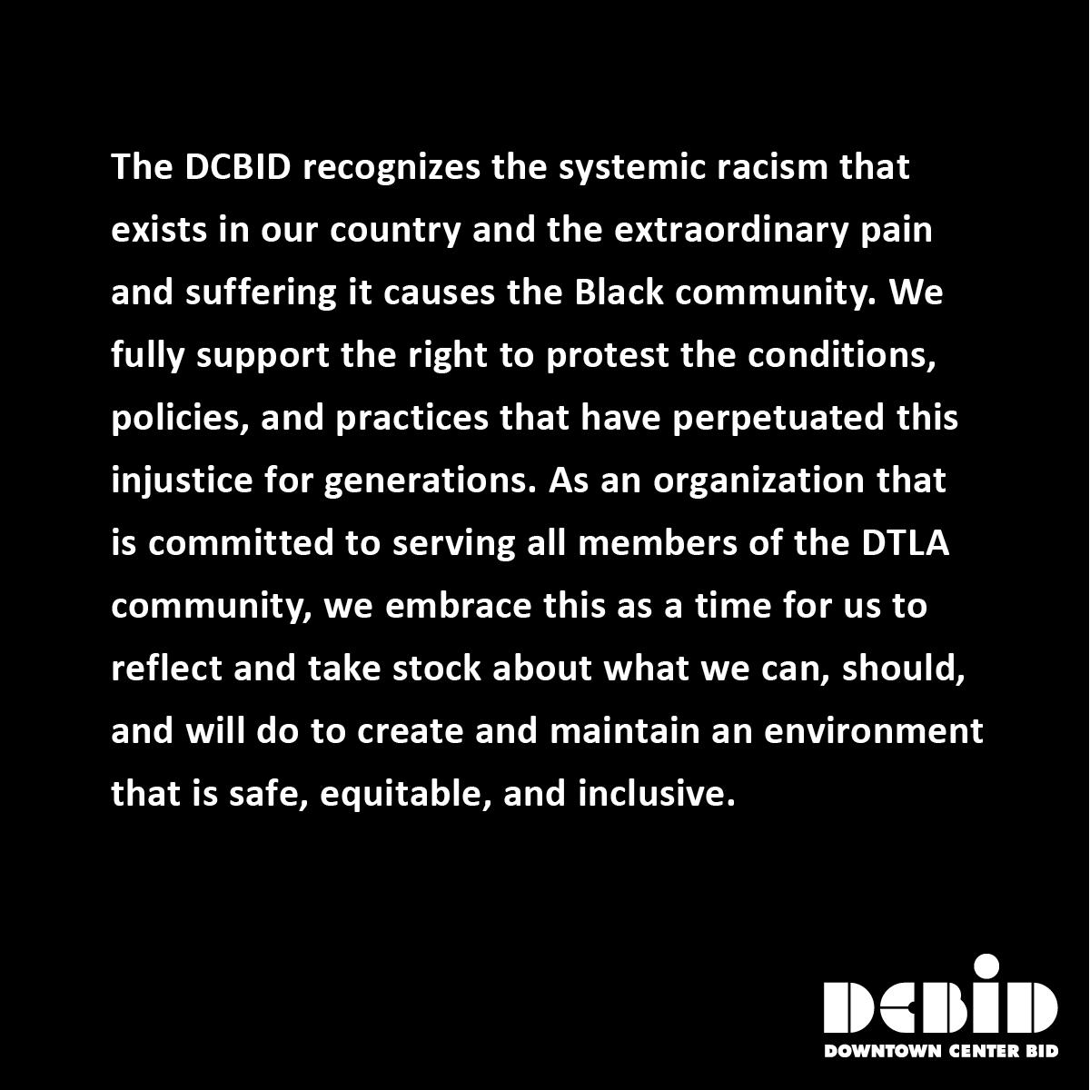 DCBID Statement