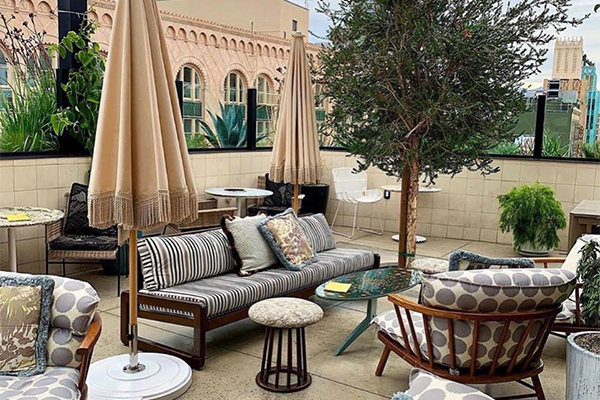 The Guide to LA Fashion District Rooftops