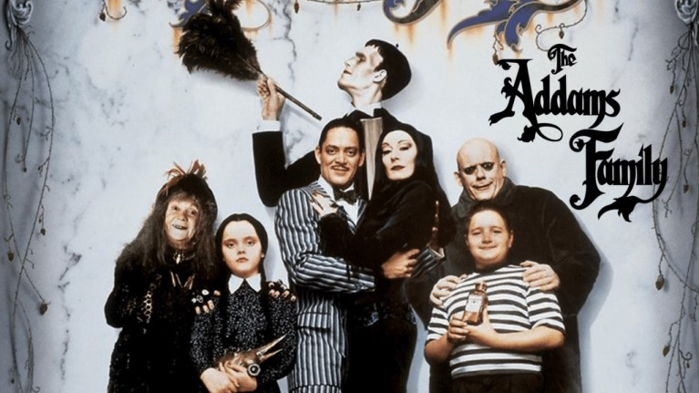 The Addams Family 1991 At Historic Crest Theatre Fresno Downtown Fresno Ca