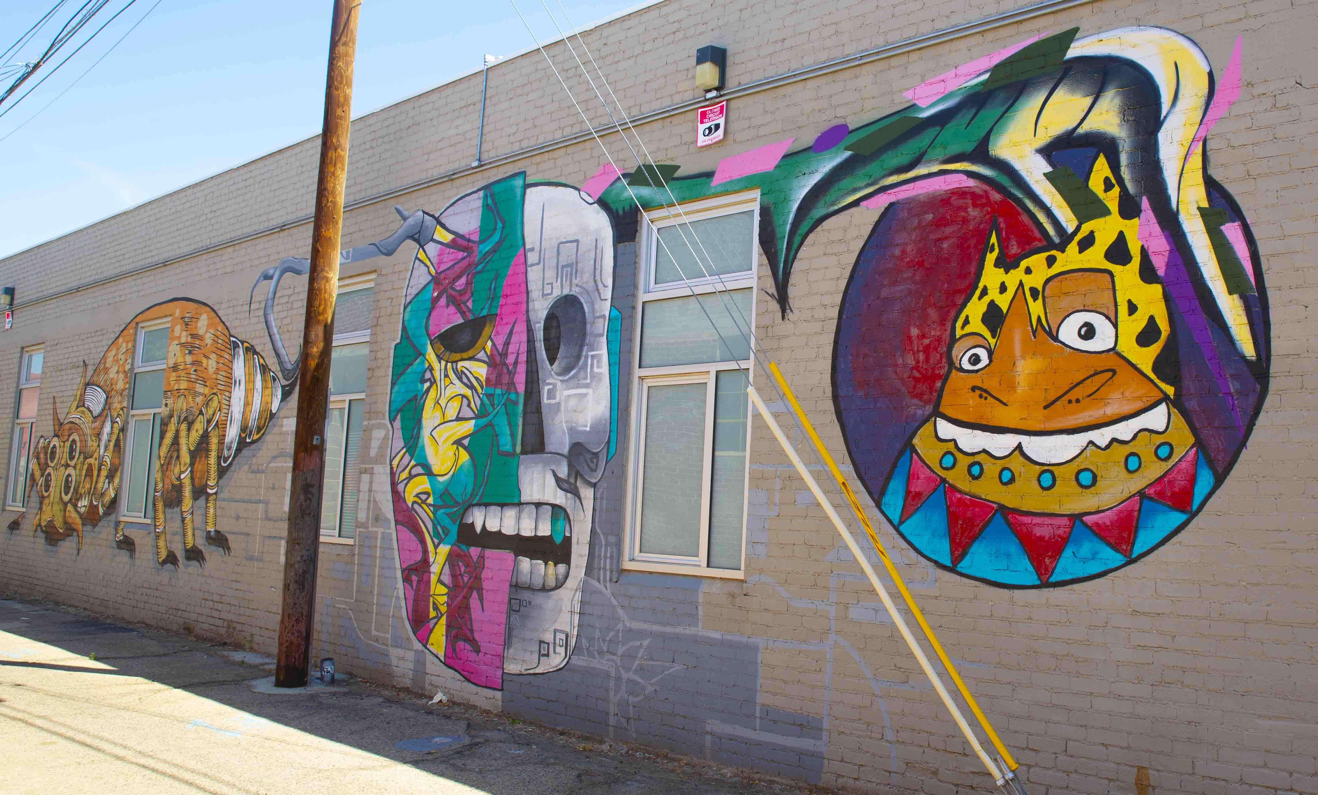 Alley Art, Between 1821 Calaveras & 1625 Broadway