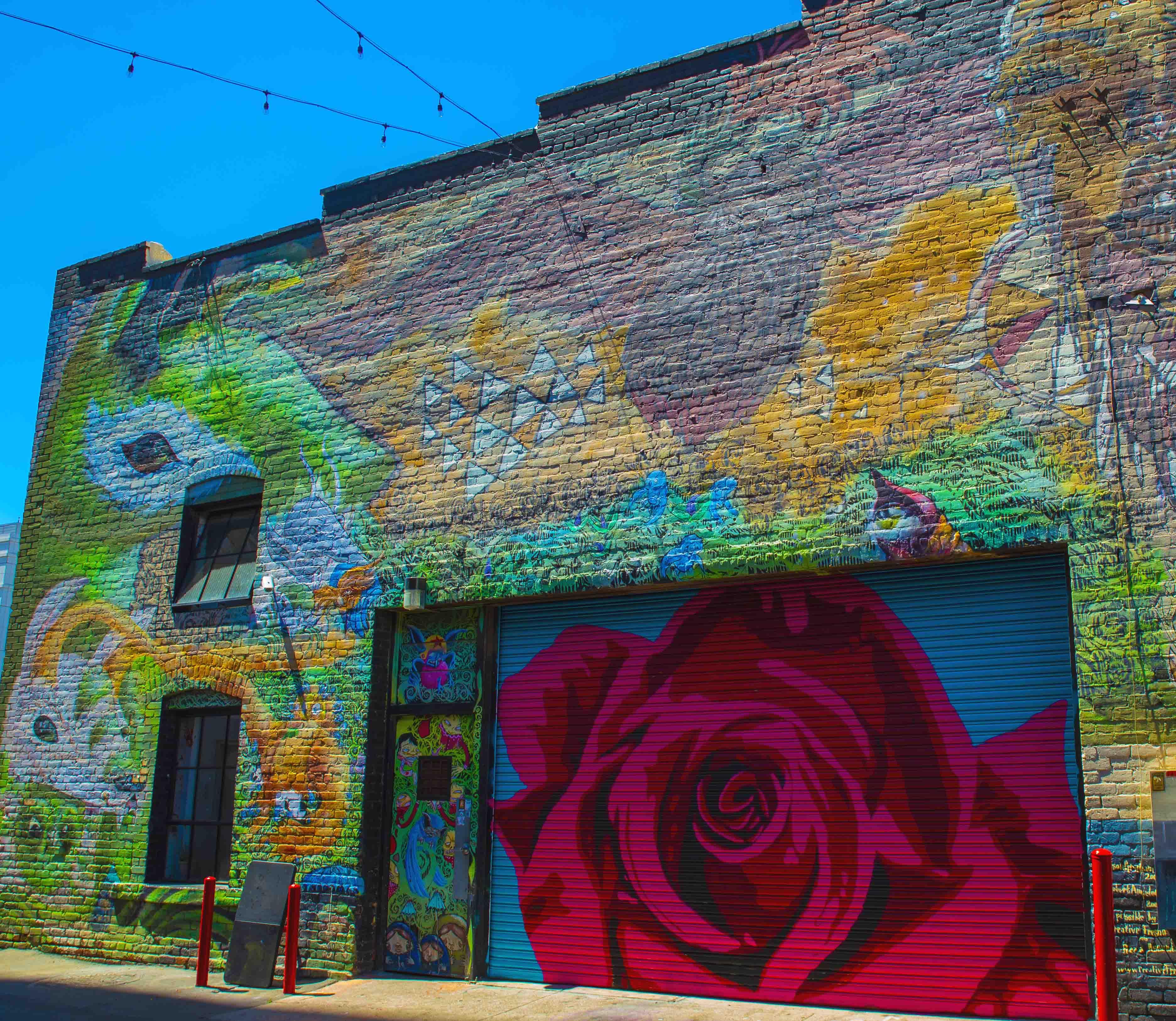 Broadway Studios Back Wall