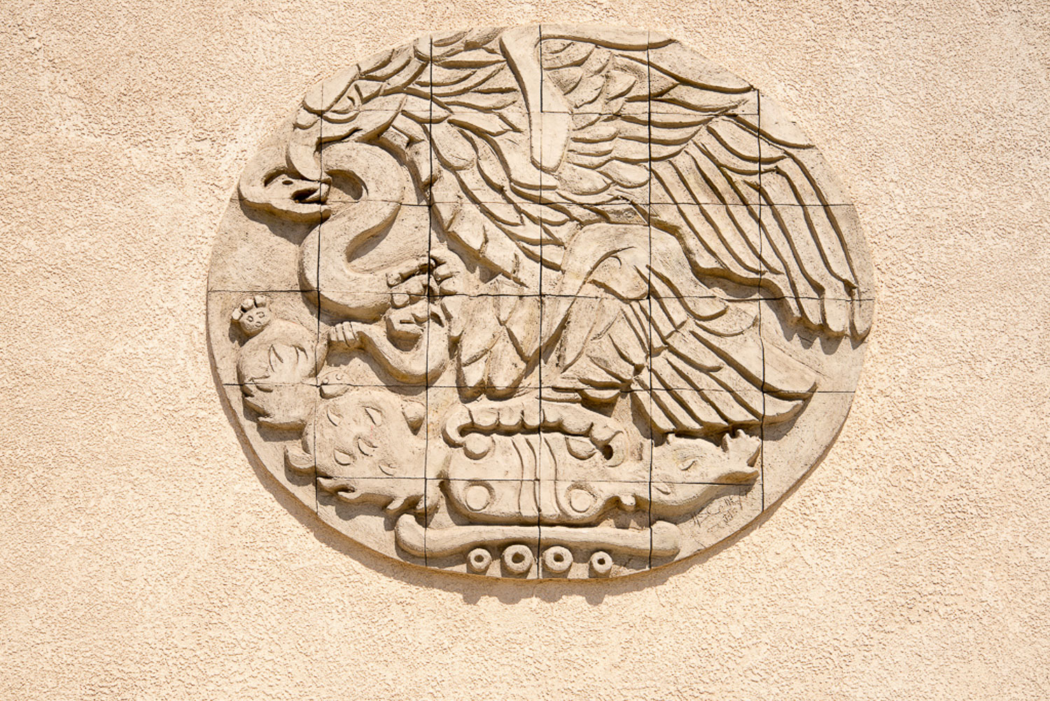 Chinatown Bas Relief