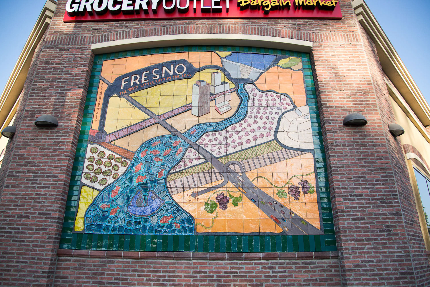 Grocery Outlet Mural