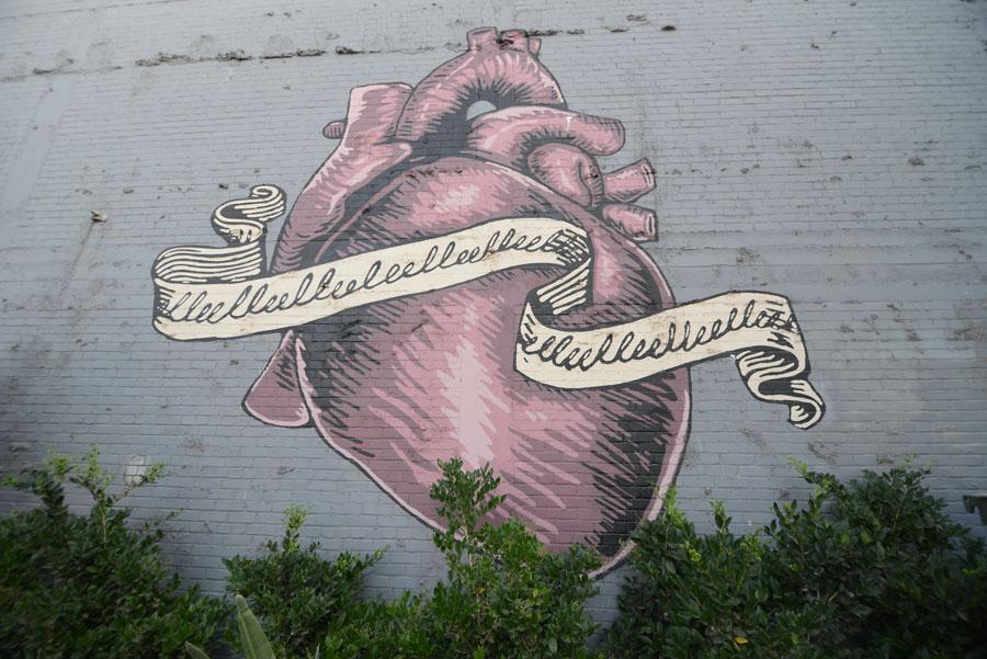 Heart Mural