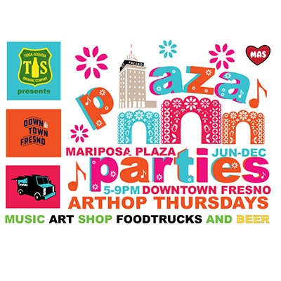 Join Us for ArtHop Plaza Parties Every First Thursday of the Month