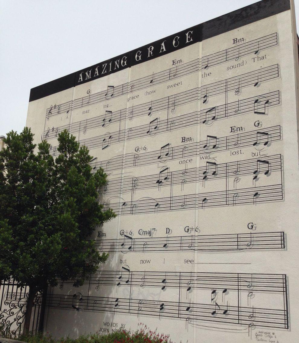 Sheet Music Mural