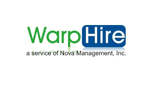 Warp Hire, Service of Nova Management, Inc.