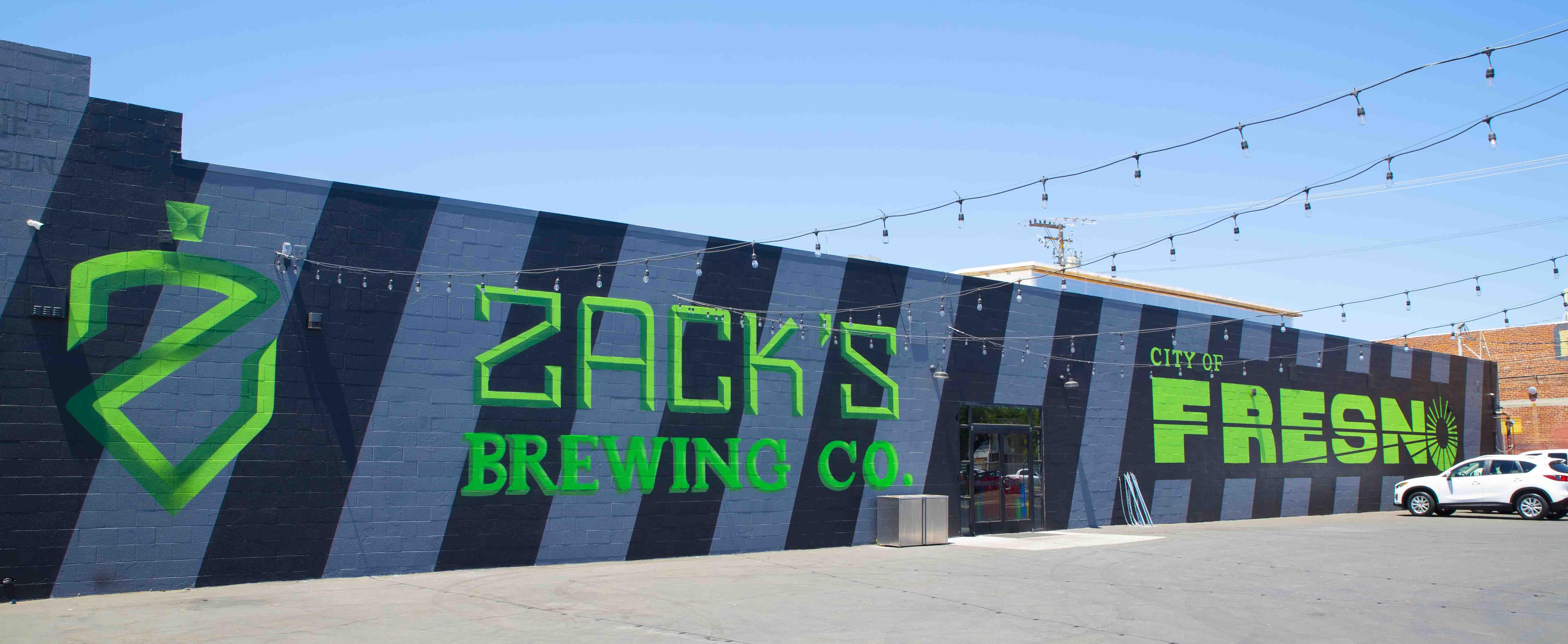 Zack's Brewing Company Mural