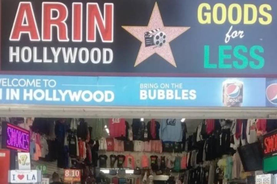 Arin in Hollywood