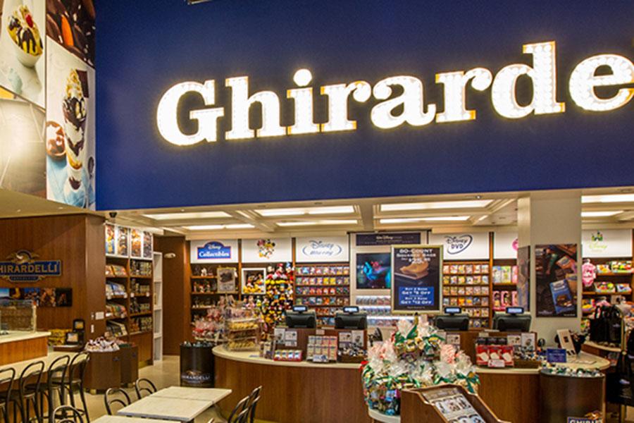 Ghirardelli Soda Fountain and Chocolate Shop