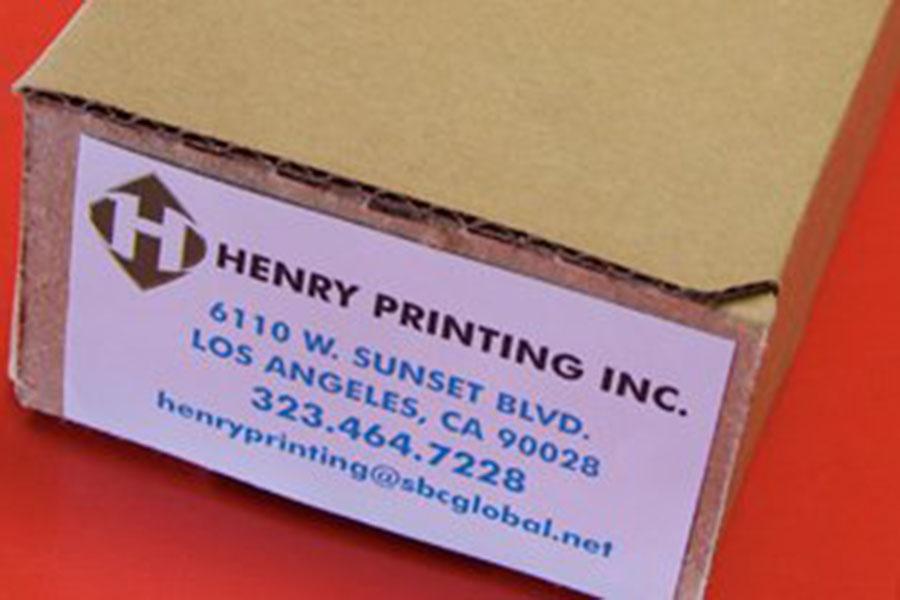 Henry Printing & Graphics Inc.