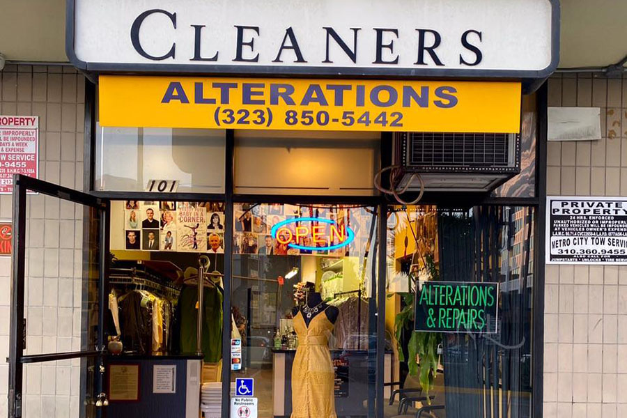 La Brea Plaza Dry Cleaners