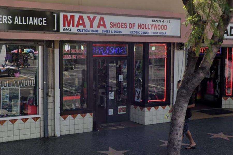 Maya Shoes of Hollywood