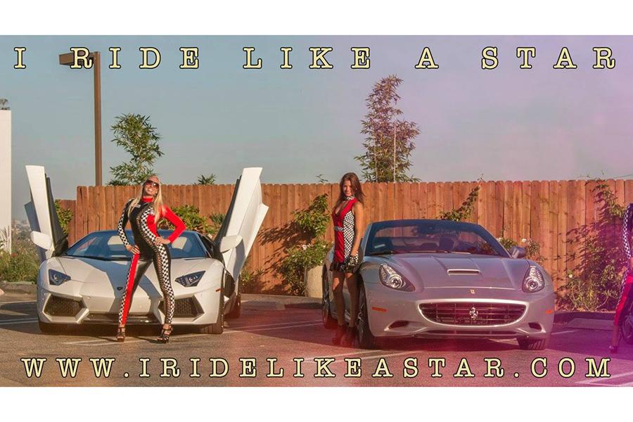 I Ride Like a Star Ferrari Tours