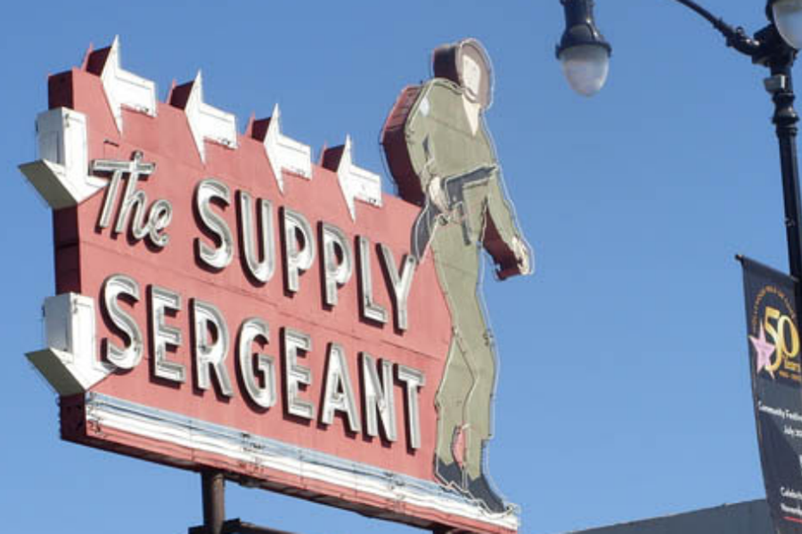 The Supply Sergeant