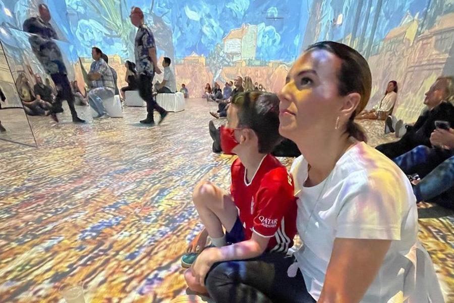 Van Gogh Exhibit LA