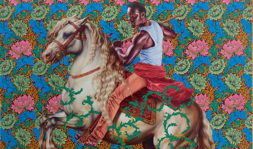 Kehinde Wiley Equestrian Portrait Of Prince Tommaso Of