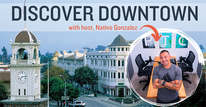 Discover Downtown Series with Nativo Gonzales