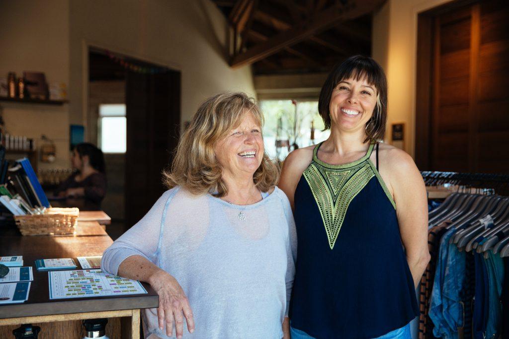 Valerie Moselle and Lynda Meeder