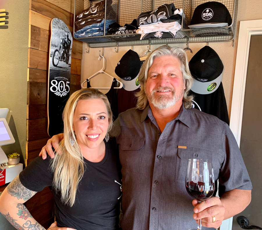 Clay McCarthy with 508 Tavern Owner Shelly Kentner